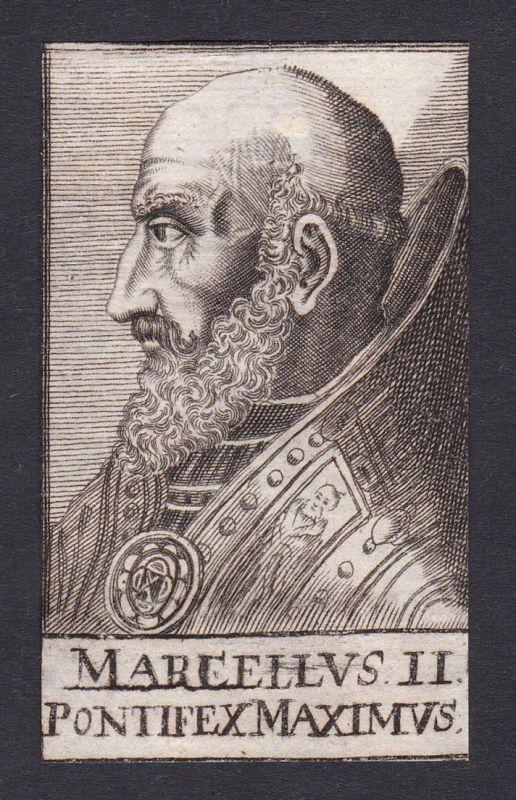 Marcellus II. Pontifex Maximus / Marcellus II. / pope Papst Montefano Italien Italy