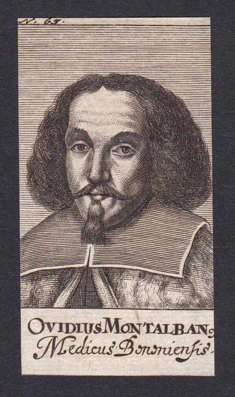 Ovidius Montalban / Ovidius Montalbanus / doctor Arzt Bologna Italien