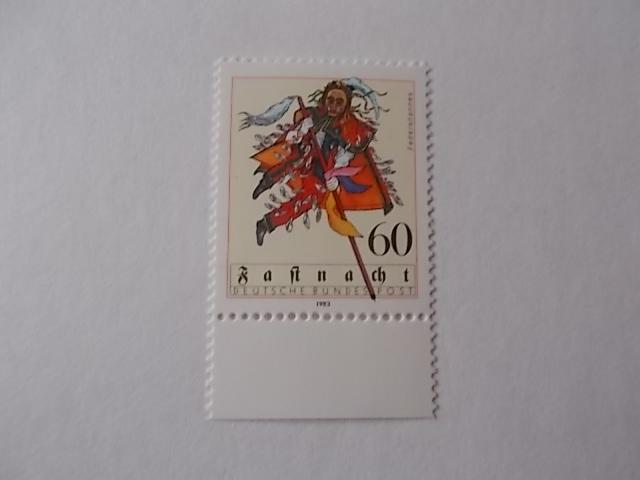 Bund Nr 1167 postfrisch Einzelmarke Rand unten