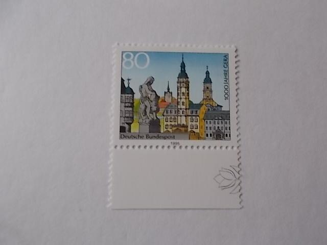 Bund Nr 1772 postfrisch Einzelmarke Rand unten