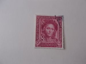 Bund Nr 117 gestempelt Einzelmarke