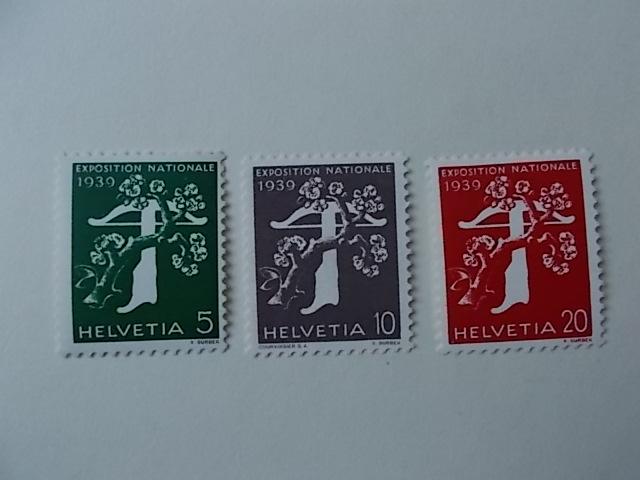 Schweiz Nr 348-50 ungebraucht
