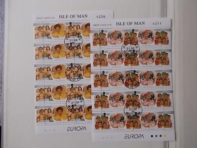 Isle of Man Nr 674-75 Kleinbogen ESST