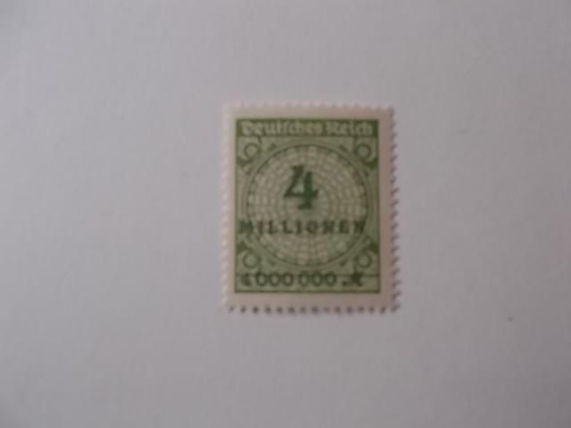 DR Nr 316 W postfrisch
