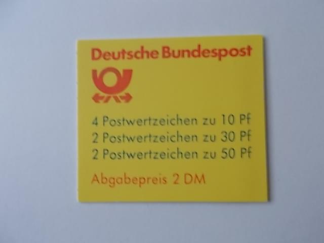 Bund MH Nr 22 I ad k2 postfrisch mit Plattenfehler