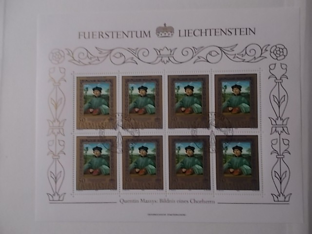 Liechtenstein Nr 881-83 ESST Kleinbogen