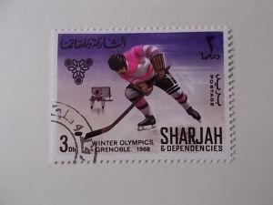 Sharjah Nr 402 gestempelt