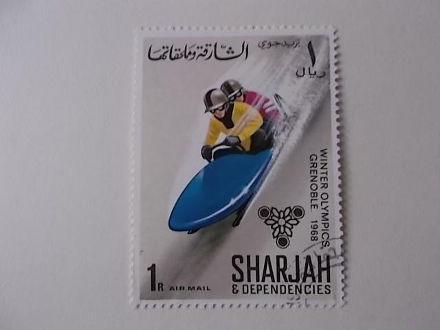 Sharjah Nr 405 gestempelt