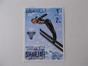 Sharjah Nr 406 gestempelt