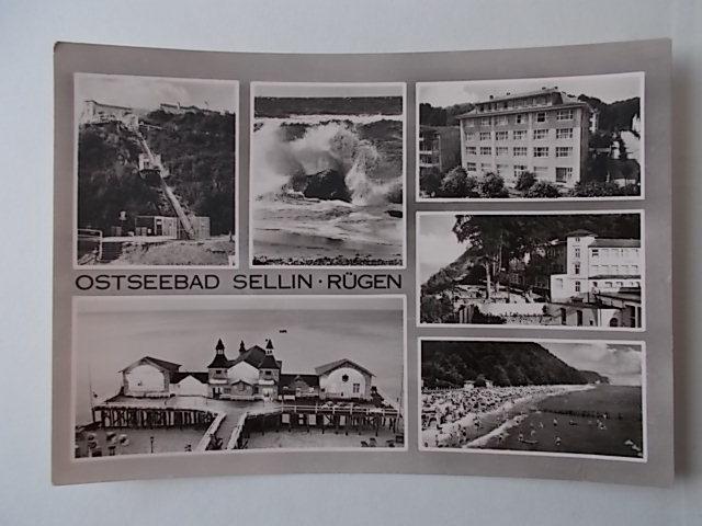 Ostseebad Sellin-Rügen gelaufen 1964 in der DDR