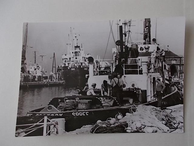 Wismar Hafen gelaufen 1983 in der DDR