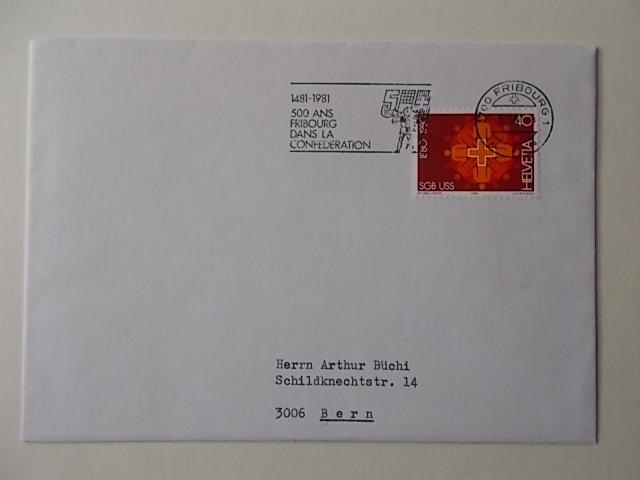 Schweiz Nr 1185 auf Brief
