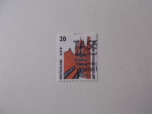 Bund Nr 2224 gestempelt mit Zählnummer