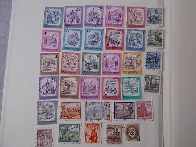 Österreich Briefmarken Lot gestempelt