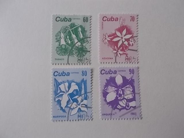 Kuba Nr 2810-13 gestempelt
