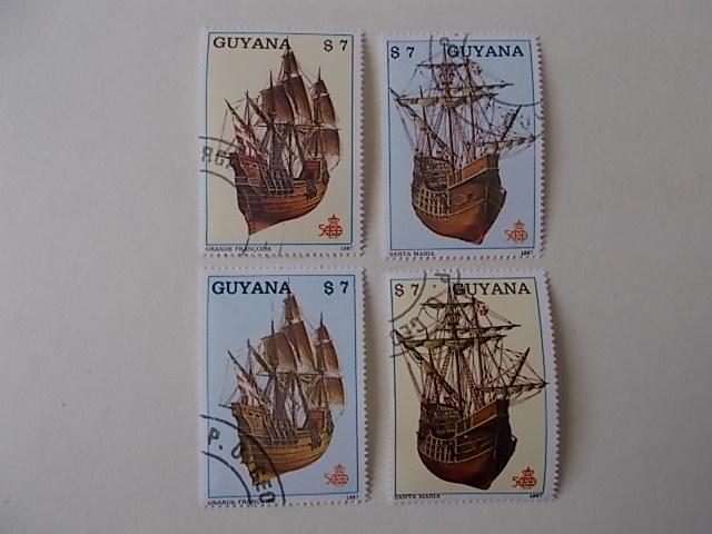 Guyana Nr 2092-95 gestempelt