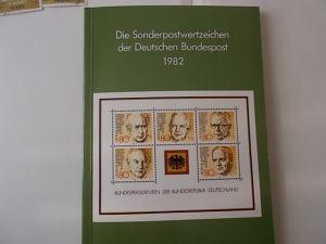 Bund/Berlin Jahrbuch 1982 postfrisch