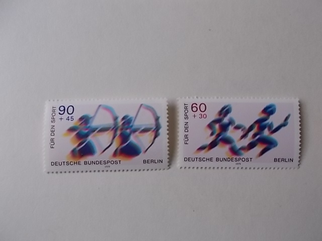 Berlin Nr 596-97 postfrisch