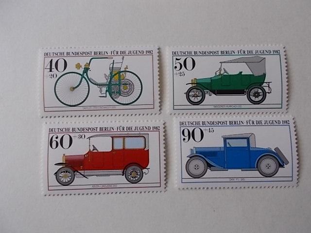 Berlin Nr 660-63 postfrisch