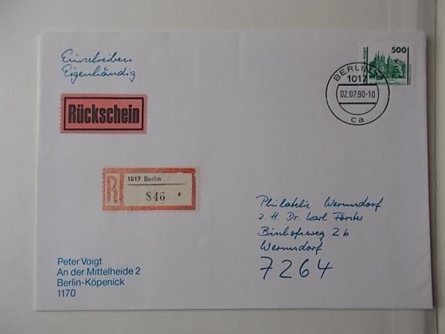 DDR Nr 3346 FDC