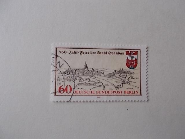 Berlin Nr 659 gestempelt