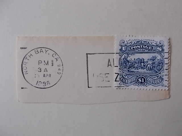 USA  Briefmarke gestempelt