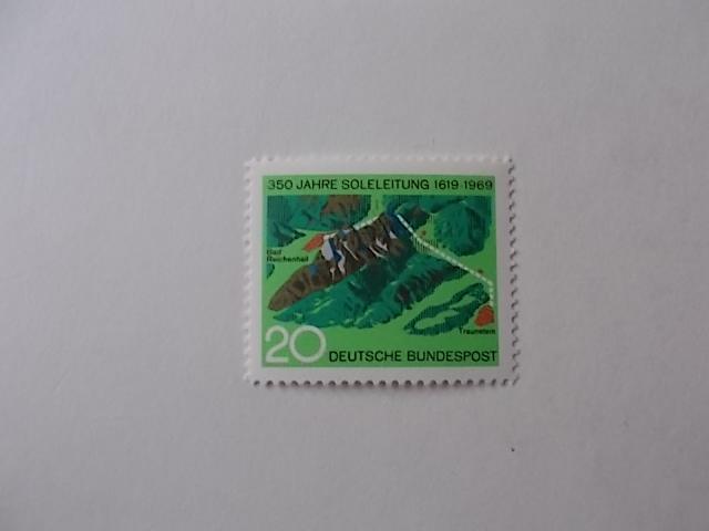 Bund Nr 602 postfrisch