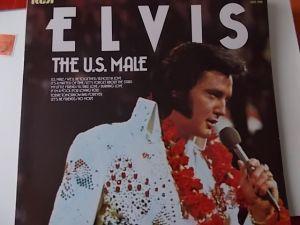 LP Elvis Presley The US MALE