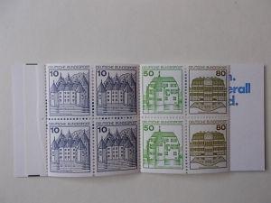 Bund MH 24 Postfrisch mit Plattenfehler und Zählbalken