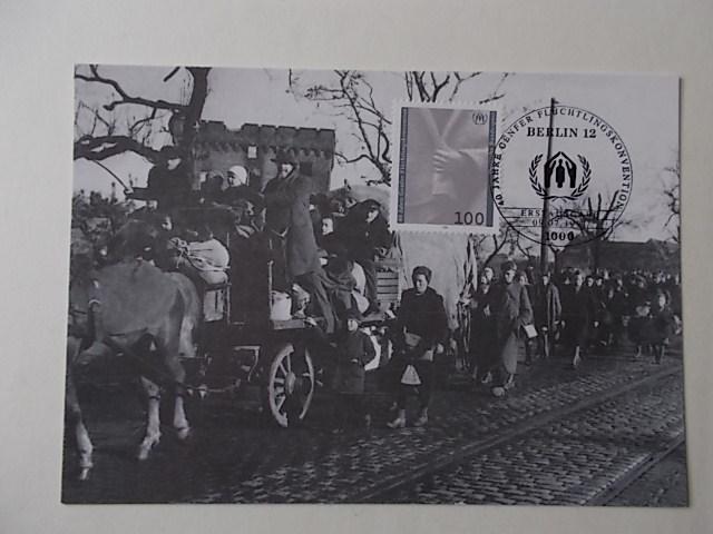 Maximumkarte 40 Jahre Genfer Flüchtlingskonvenition