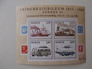 Norwegen Block 3 postfrisch
