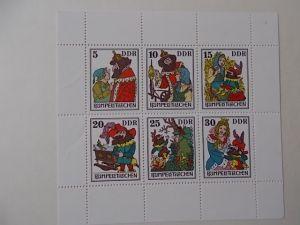 DDR Nr 2187-92 Kleinbogen postfrisch