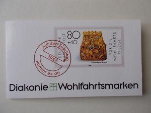 Bund Diakonie MH Wohlfahrtsmarken 1987 postfrisch