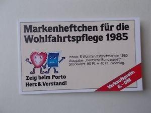 Bund MH Wohlfahrtspflege 1985 postfrisch