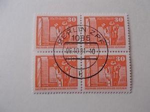 DDR Nr 1899 gestempelt 4er Block