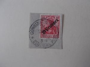 Deutsche Post Türkei Nr 49 gestempelt