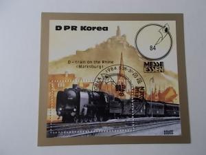 Korea-Nord Block 177 gestempelt