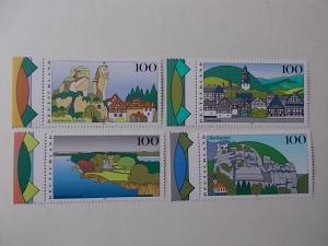 Bund Nr 1807-10 postfrisch mit Plattenfehler