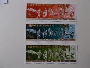 Bhutan Nr 335- B-37 B postfrisch