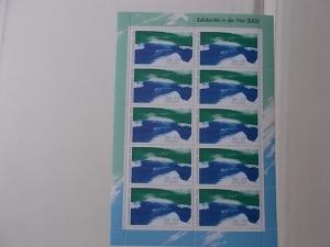 Bund Nr. 2278 A II Postfrisch Hochwasserhilfe 2002 kompletter Bogen