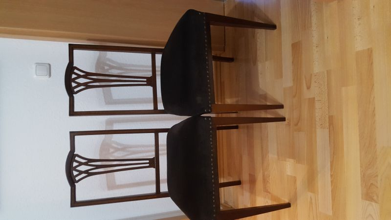 1 Paar Stühle, England - Edwardian ca. 1900 - 1920