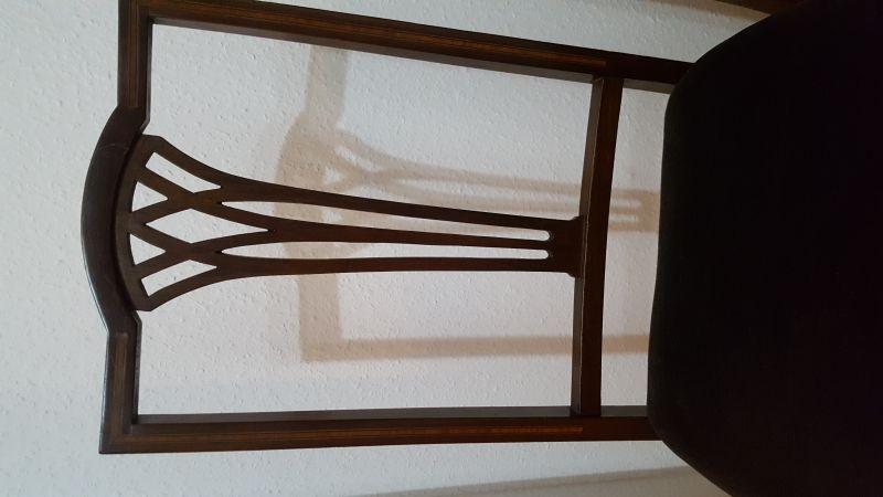 1 Paar Stühle, England - Edwardian ca. 1900 - 1920 1