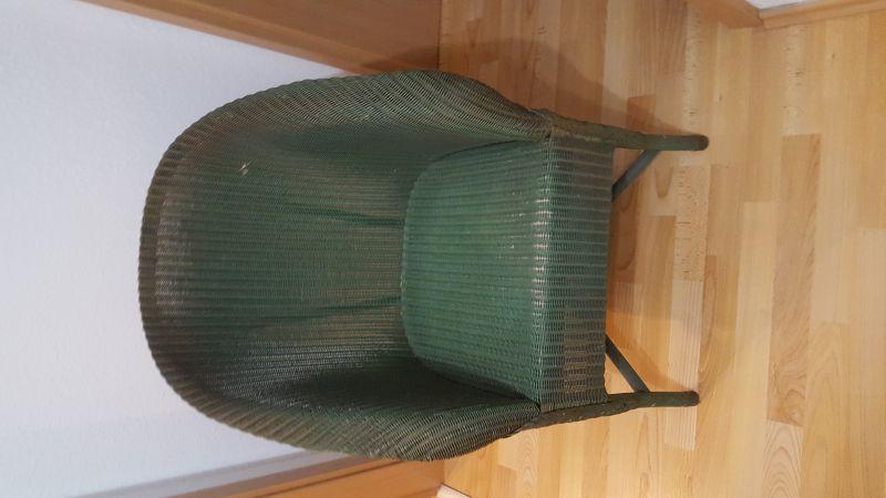 Lloyd-Loom - Armlehnsessel aus Geflecht England, ca. 1934