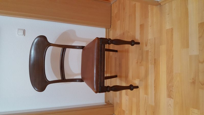 Stuhl mit Rückenlehne, England Victorian ca. 1850 - 1870