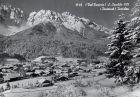 Innichen - San Candido, Blick auf Ort und die Berge S/W 03