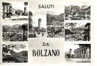 Bozen / Bolzano, Saluti da Bolzano - Mehrbildkarte  / SW