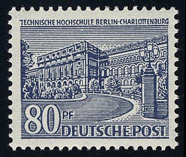 55 Berliner Bauten 80 Pf **