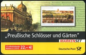 59I MH Preußische Schlösser, rund, Versandstellenstempel  Weiden 3.11.2005