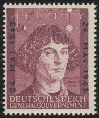 104 Nikolaus Kopernikus 1943, ** postfrisch