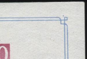 Block 10III Ausstellung mit PLF III Type 1, geprüft Schönherr BPP, postfrisch **
